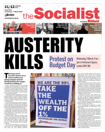 The Socialist issue 1075