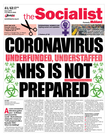 The Socialist issue 1076