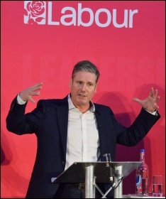 Keir Starmer, 2020 Labour Party leadership election hustings, Bristo, photo by Rwendland, CC