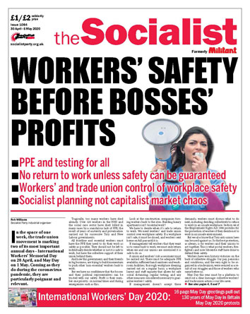 The Socialist issue 1084