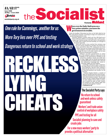 The Socialist issue 1088