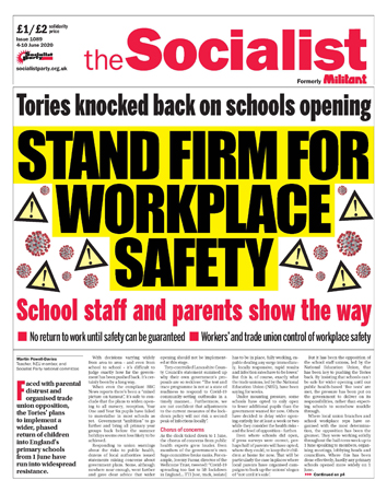 The Socialist issue 1089