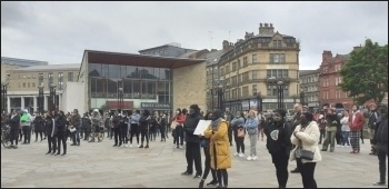 BLM demo, Bradford, June 2020