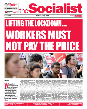 The Socialist issue 1092