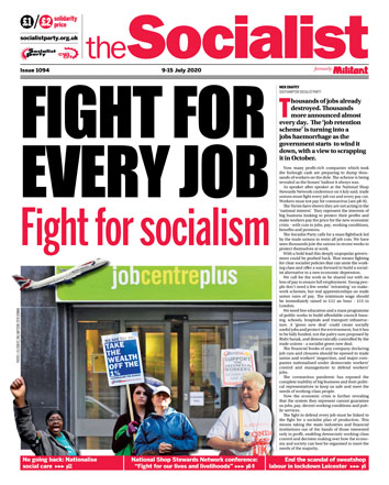 The Socialist issue 1094