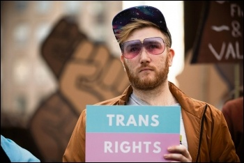 Fight for trans rights, photo Tom Wolf/CC