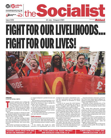 The Socialist issue 1096