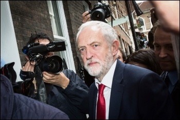 Jeremy Corbyn, photo Chatham House/CC