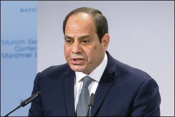 Egypt's autocratic president, Abdel Fattah al-Sisi, photo by securityconference.org/Impressum/CC
