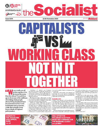 The Socialist issue 1109