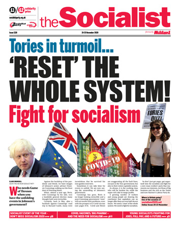 The Socialist issue 1110