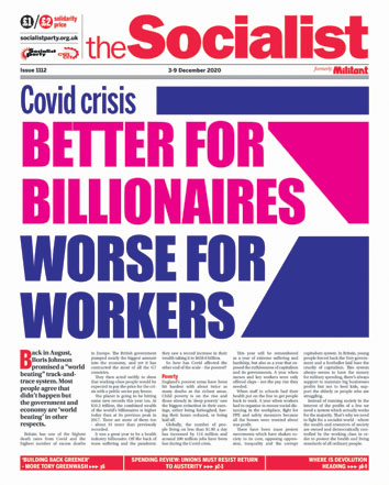 The Socialist issue 1112