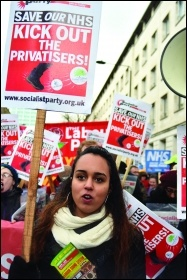 Kick out the Privatisers! photo: Paul Mattsson