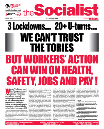 The Socialist issue 1115