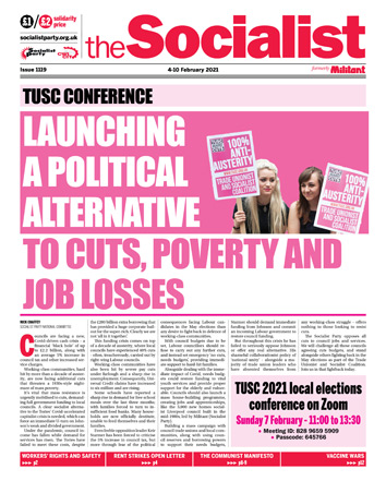 The Socialist issue 1119