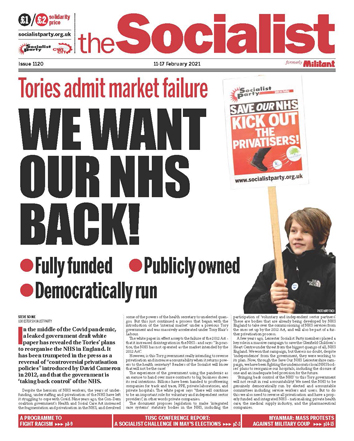 The Socialist issue 1120