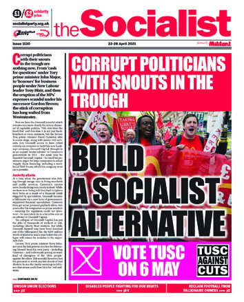 The Socialist issue 1130