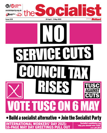 The Socialist issue 1131