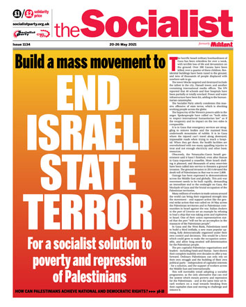 The Socialist issue 1134