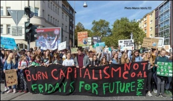 Students take to the streets in Cologne. Photo: Marco Verch/CC