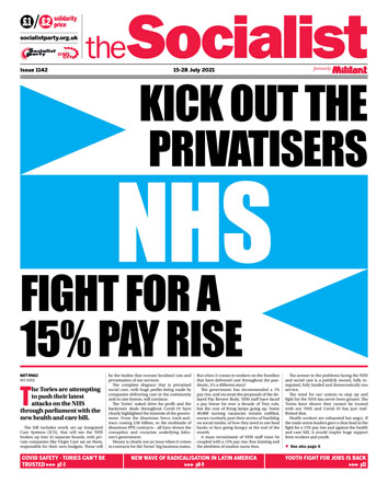The Socialist issue 1142