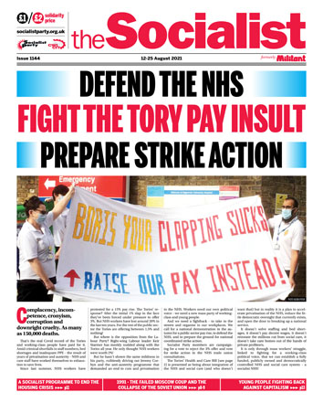 The Socialist issue 1144