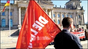 The Left Party, Die Linke, has seen its support drop to between 6% and 8%