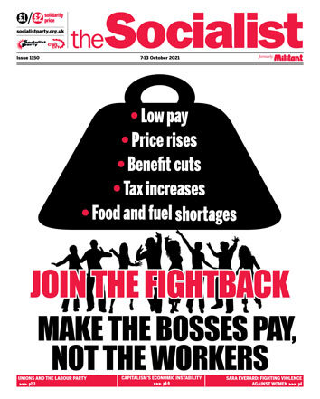 The Socialist issue 1150