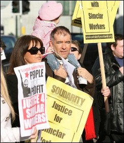 Tommy Sheridan - hounded by News International, photo IS