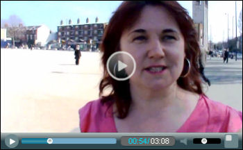 Video: Nancy Taaffe, Trade Unionist and Socialist Coalition candidate for Walthamstow