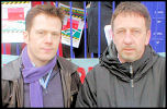 Chris Flood and Ian Page, photo Socialist Party