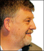 Socialist Party councillor and TUSC candidate Dave Nellist, photo by Paul Mattsson