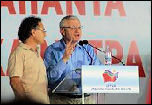 Joe Higgins, the Irish Socialist Party's MEP, speaking at central SYRIZA rally in Athens, Greece