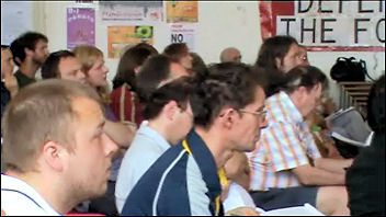 National Shop Stewards Network conference 2010, photo Socialist Party