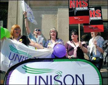 Unison Lobby of Parliament in 2006, photo Paul Mattsson