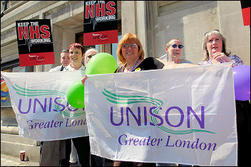 Unison Lobby of Parliament in 2006