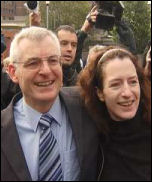 Joe Higgins with Clare Daly