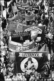 The campaign built by Liverpool city council in 1983-87 to win extra funding inspired thousands of workers, photo Militant