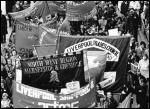 Liverpool city council's struggle in 1983-87 for more funding from the Thatcher government was an inspriation to workers, photo Dave Sinclair