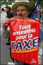 100,000 demonstrate in Brussels in 2010, photo Paul Mattsson