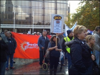 Portsmouth anti-cuts rally