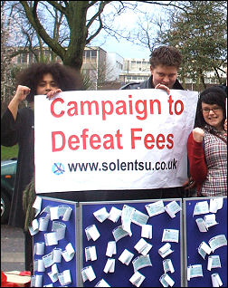 Southampton Socialist Students campaigning