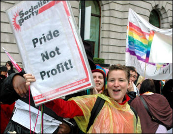 Gay Pride demo 2007, photo Marc Vallee