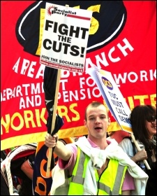 NSSN lobby of TUC, photo Dave Beale