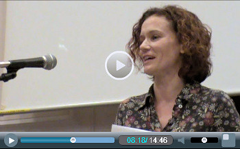 Hannah Sell, Socialist Party deputy general secretary, addresses Socialism 2010