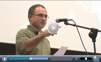 Andros Payiatsos, General Secretary Xekinima, (CWI in Greece), speaking at Socialism 2010