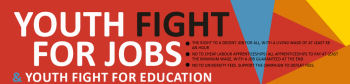 Youth Fight for Jobs website
