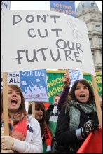 Young people march for a future
