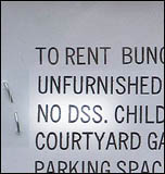 No DSS - benefit cuts lead to homelessness