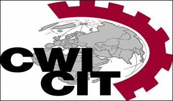 Committee for a Workers' International (CWI) logo
